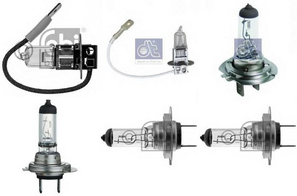 Лампа накаливания, фара дальнего света; Лампа накаливания, основная фара; Лампа накаливания, противотуманная фара; Лампа накаливания; Лампа накаливания, основная фара для AUDI A2 (8Z0)