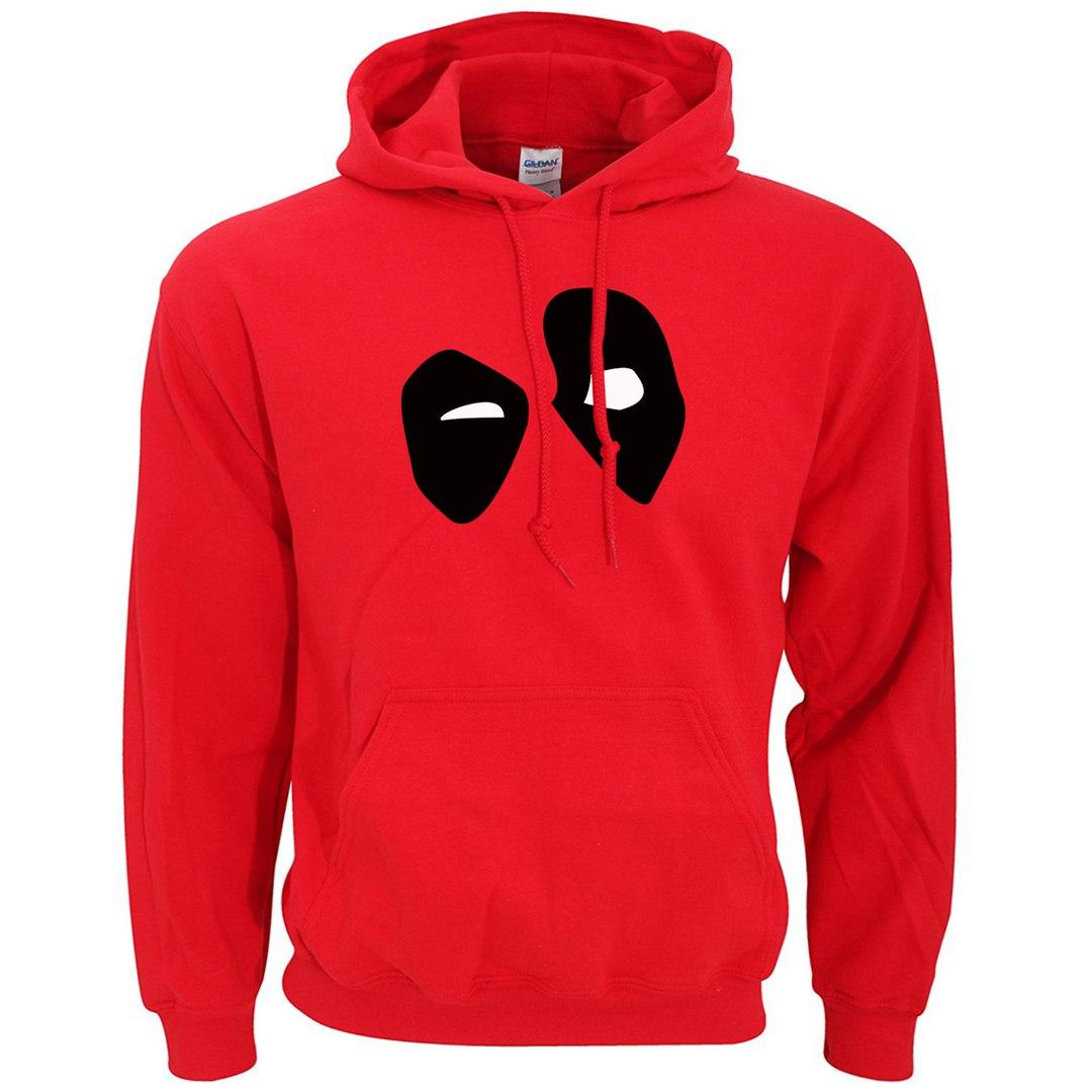 Толстовка с символикой Deadpool
