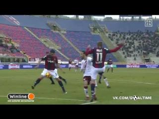 Болонья - Торино 2:0. Обзор матча. Италия. Серия А 2016/17. 21 тур.