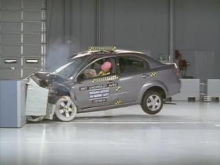 2007 Chevrolet Aveo Краш Тест