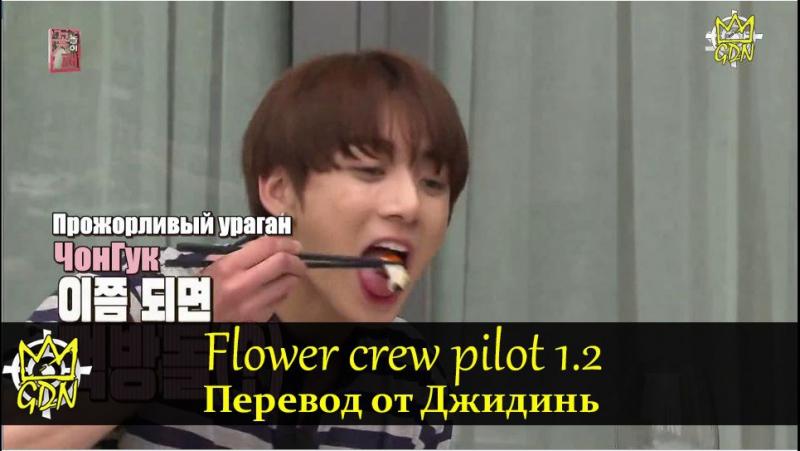 Flower crew/Цветочная Команда пилот серия 1 часть 2 рус саб. Гости: Ким МинСок, ЧонГук (BTS)[Fansub GDn Ent]