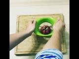 Нарезка яблока за 10 секунд