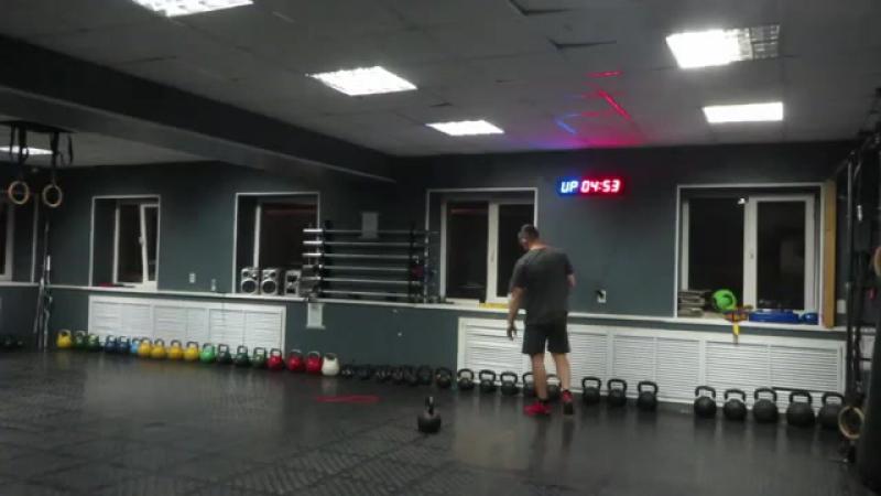 Гиря Ка4. Тренировка за 10 минут. Разминка Силовая Комплекс