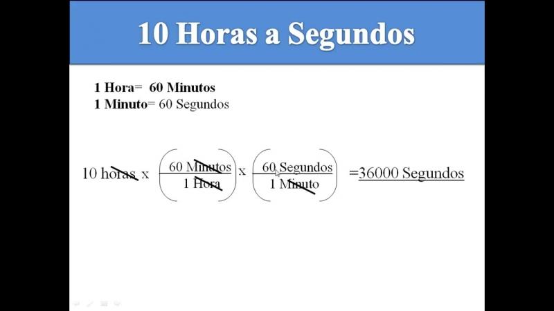 Convertir de Horas a Segundos by Botxtrem
