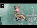 Со съемок фотосета Оксаны Гришиной для Muscle  Fitness Hers на Venice Beach Golds Gym