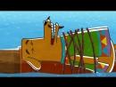 Мультфильм для детей - Летающие звери - Океан (43) - Океания