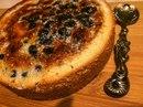 Черничный десерт в хрустящей корочке