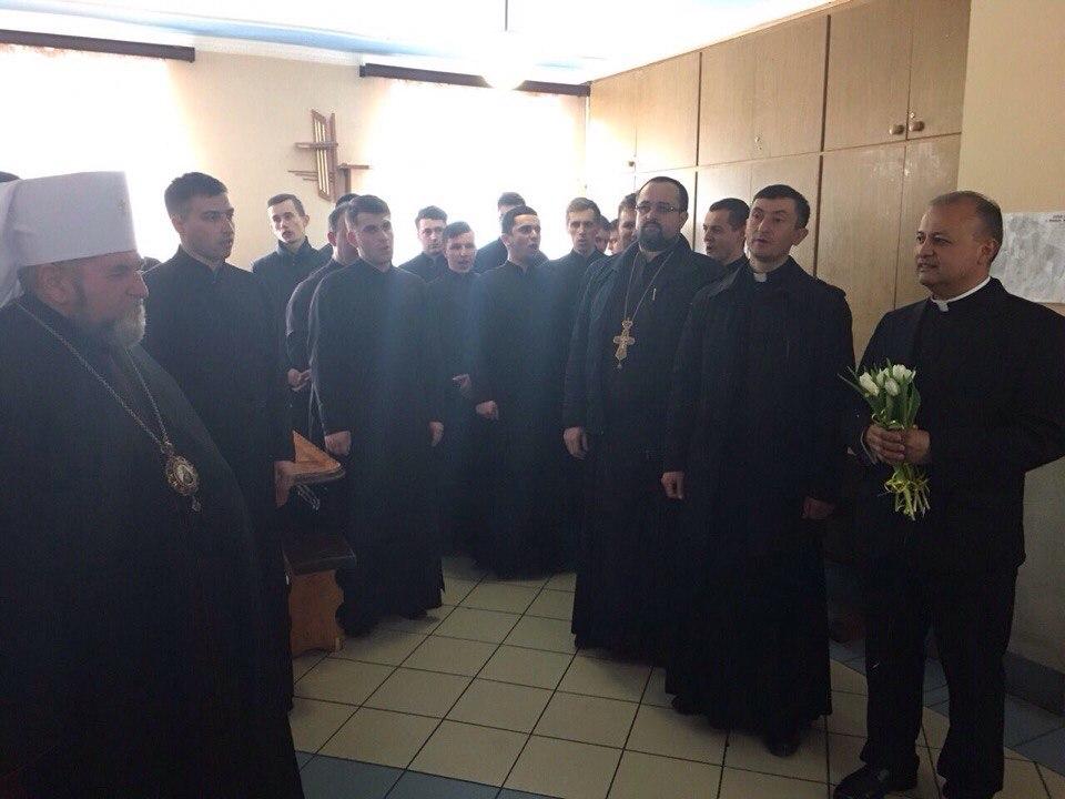 отець Чезар Руб'яно в гостях у ТВДС