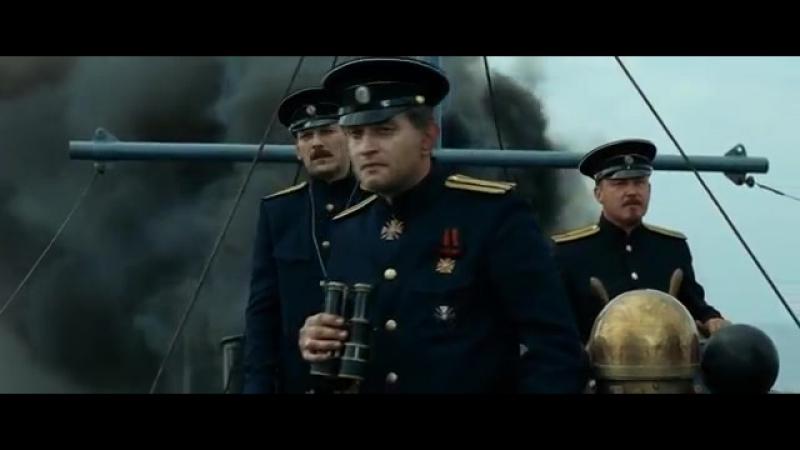 Молитва А Колчака перед боем сцена из кф 'Адмиралъ' 2008