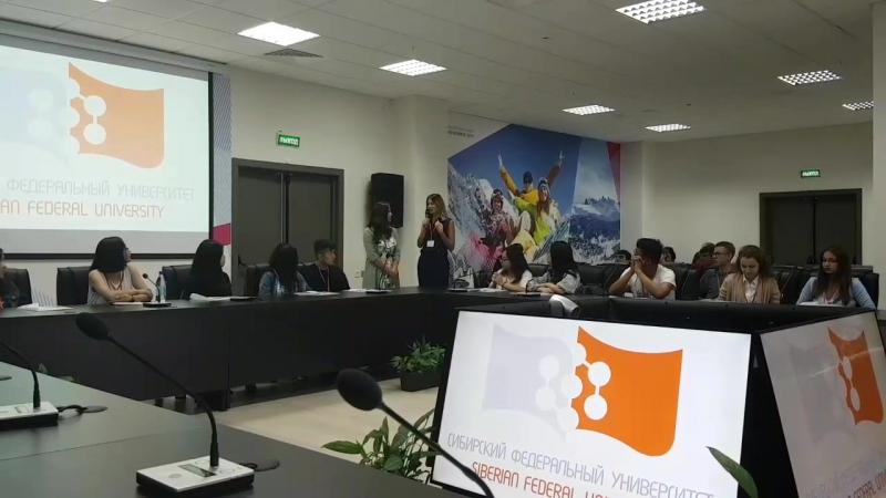 Daniya Marina's speech