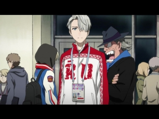Yuri!!! on Ice 1 серия русская озвучка OVERLORDS / Юрий на льду 01 vk HD