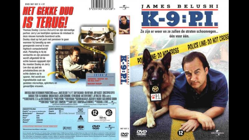 К 9 III Частные детективы K 9 P I 2002 комедия боевик