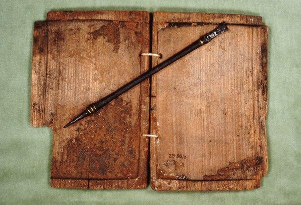 Скриба - римские восковые дощечки для записей