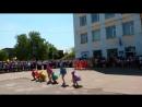 Танец Радужные кляксы на Последнем звонке 2017