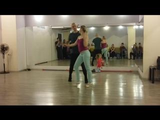 Enlife Dance School - zouk class 07.05.2017 - Matvey and Yulia