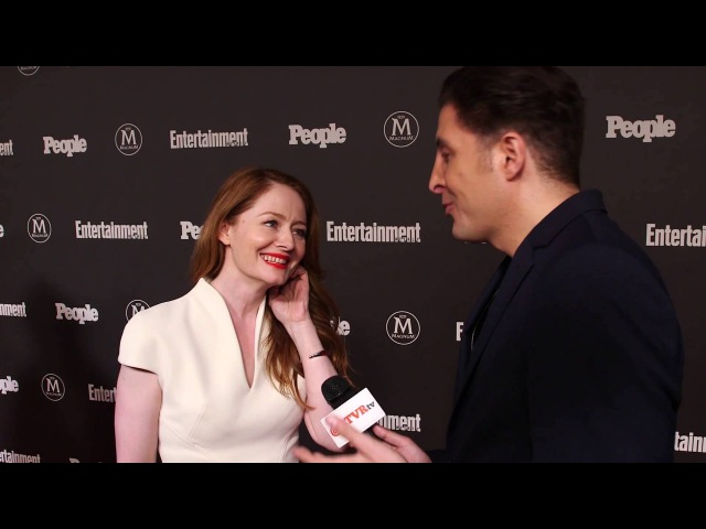 Miranda Otto at the EW and People Upfront with Arthur Kade