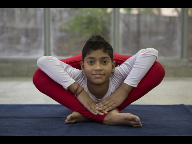 Meet India's 11-year-old Bendy Star