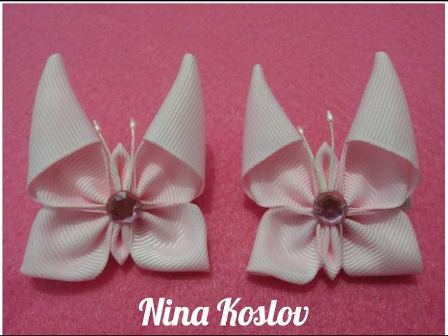 Butterfly Kanzashi - Nina Koslov