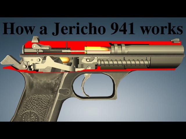 How a Jericho 941 works / Как работает Иерихон 941