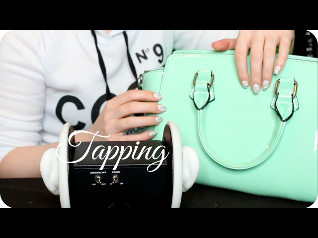 ASMR Tapping w/ Scratching (NO TALKING) Vinyl, Konjac Sponge, Wood, Glass, iPad, Headphones 2 Hour