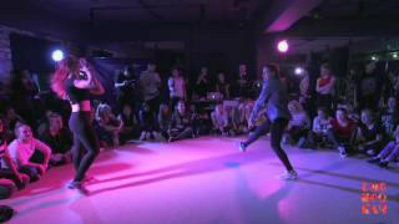 Siberian dancehall contest - Dancehall 1x1 1/4 MariJuana vs Maru(Sibprokach 2016)