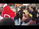 Задержание группы поддержки Али Феруза на митинге 27 августа 2017 года