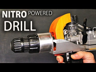 How to Make A Nitro Engine Powered DRILL