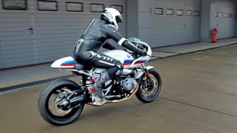 Скутер за 1 МЛН. BMW i8, R nineT Racer и Никитос на треке