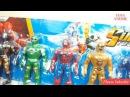 Samurai, Dino Super Charge, Spirit Rangers, Mighty Morphin Power Rangers Mega force Toys Me Video