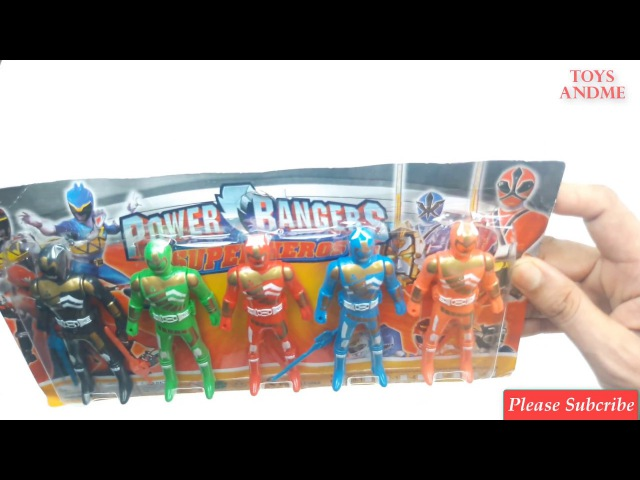 POWER RANGERS Toys AndMe! Mystic Force The Light Power Rangers vs Magma Dino CHARGE Unleash POWERS 6