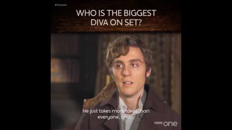 BBC One «Who's the biggest diva on the set of Poldark 💅»