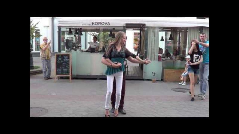 Сальса Бачата на улице! 4 (cover) Salsa, Bachata on the street! Salsa, Bachata en la calle!
