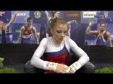 Evgenia Shelgunova (RUS) UB EF @ Osijek Zito World Cup Gymnastics 2017