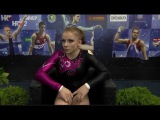 Evgenia Shelgunova (RUS) BB EF @ Osijek Zito World Cup Gymnastics 2017