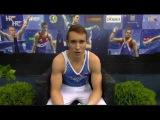 Sergei Eltcov (RUS) HB EF @ Osijek Zito World Cup Gymnastics 2017