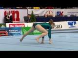 Liliia Akhaimova (RUS) FX EF @ Osijek Zito World Cup Gymnastics 2017