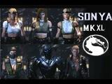 Mortal Kombat XL ALL SONYA MKXL Skin PC MOD PC MOD+LINK DOWNLOAD+ALL BRUTALITIES-FATALITIES