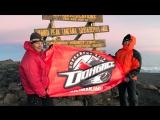Болельщики ХК Донбасс покорили Килиманджаро (UA Перший 22.03.2017)
