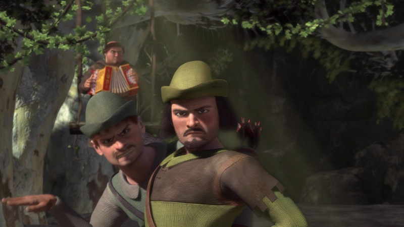 Шрек - Встреча с Робин Гудом