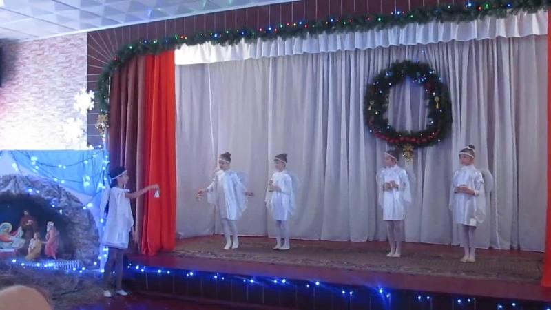 Різдвяне свято Бугринської ОТГ - танц. колектив МІЛЕНА та колектив Смайликис. Бугрин