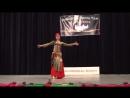 Samiyah orientalny tanec egyptsky folklor ghawazee s prstovymi cinelkami 7906