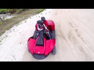 Gibbs Sports - Quadski XL 2-Seater High Speed амфибия (HSA) Гидроциклы [1080p]
