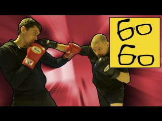 Тактика бокса (бой с высоким противником, работа против левши)