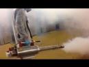 Обработка от насекомых из генератора горячего тумана