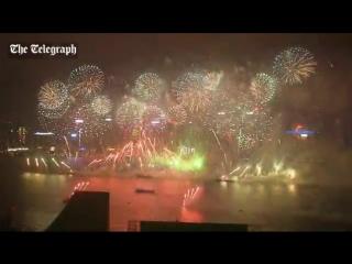 Happy New Year, Hong Kong!