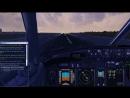 Полет по кругу в Домодедово на боинге 737-600. Руление и взлет