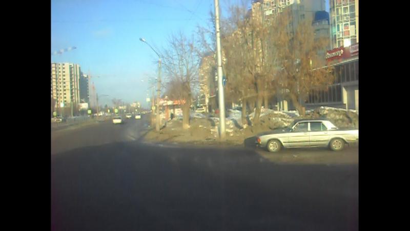 Троллейбус ЗиУ-682 КВР БТРМ-4009. Покатушки по Барнаулу.