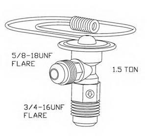 Расширительный клапан, кондиционер для BMW M1 (E26)