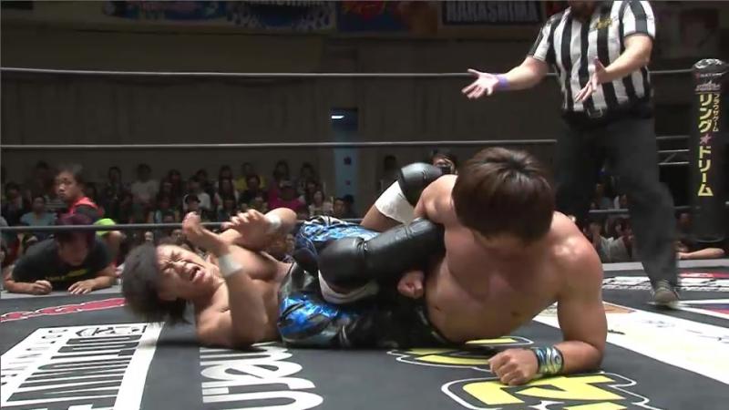 HARASHIMA vs. Tetsuya Endo (DDT - KING OF DDT 2017)
