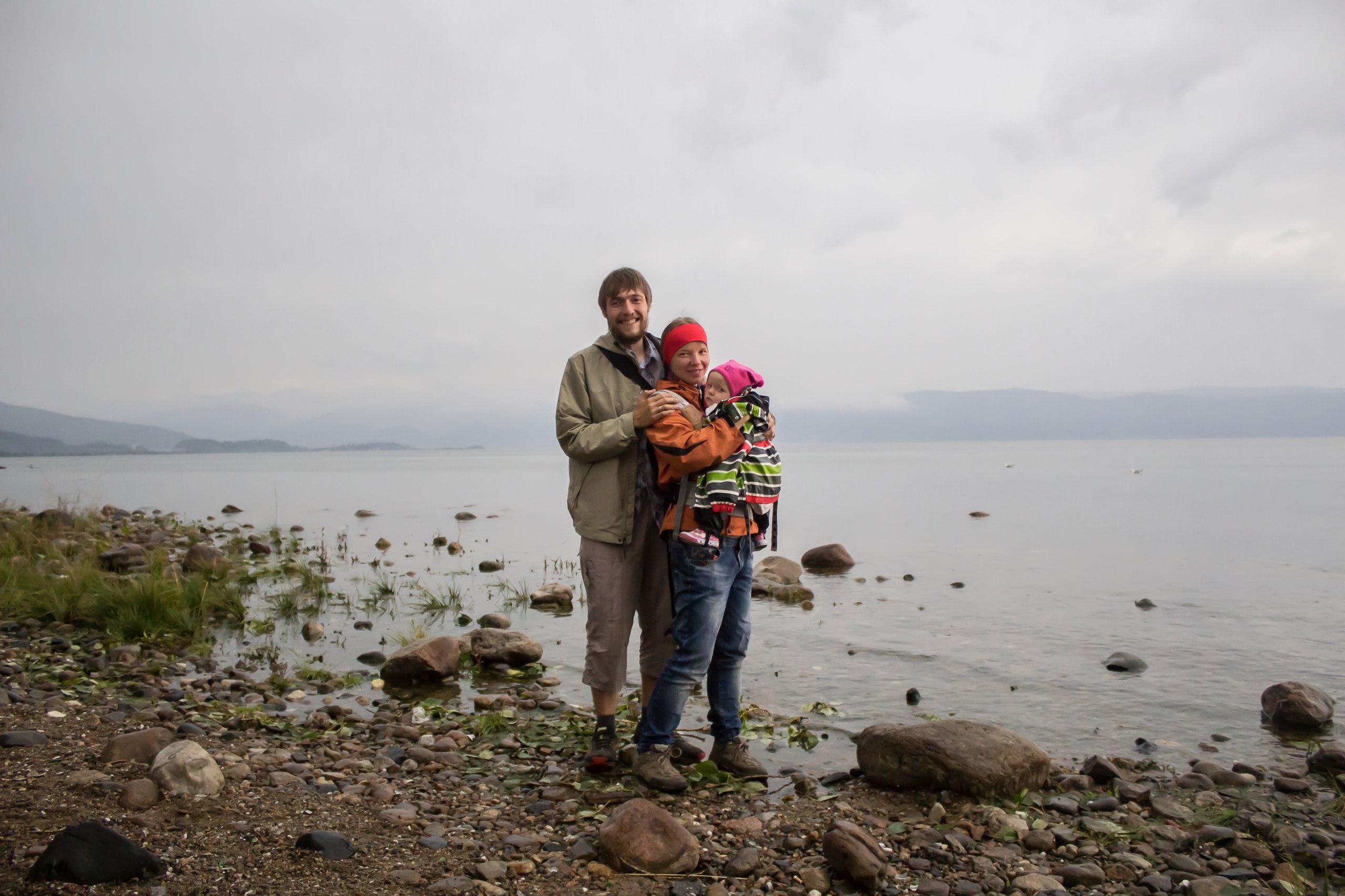 Все вместе на Байкале